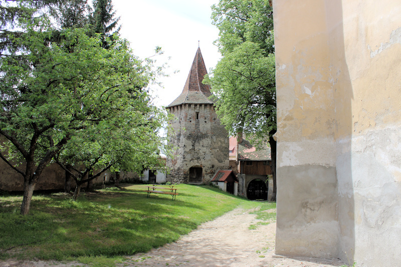 Kirchenburg in Cristian (Grossau) bei Sibiu (Hermannstadt)4