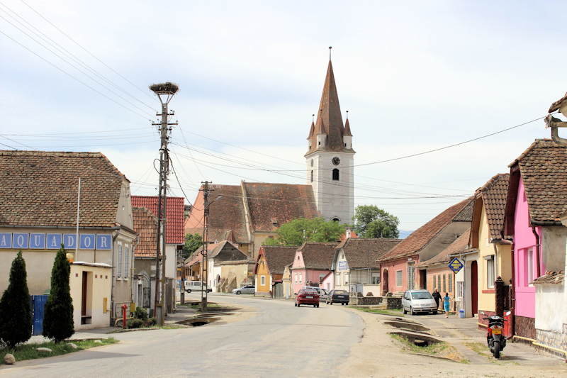 Kirchenburg in Cristian (Grossau) bei Sibiu (Hermannstadt)