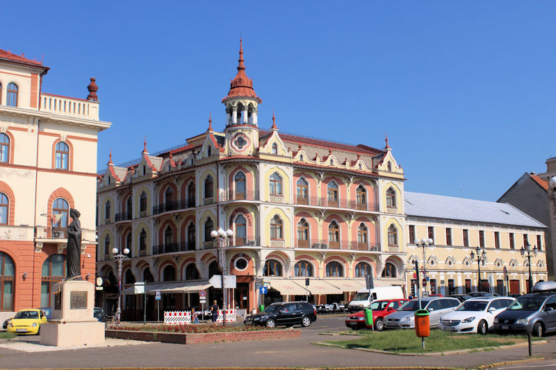 Astoria Grand Hotel in Oradea (Großwardein)